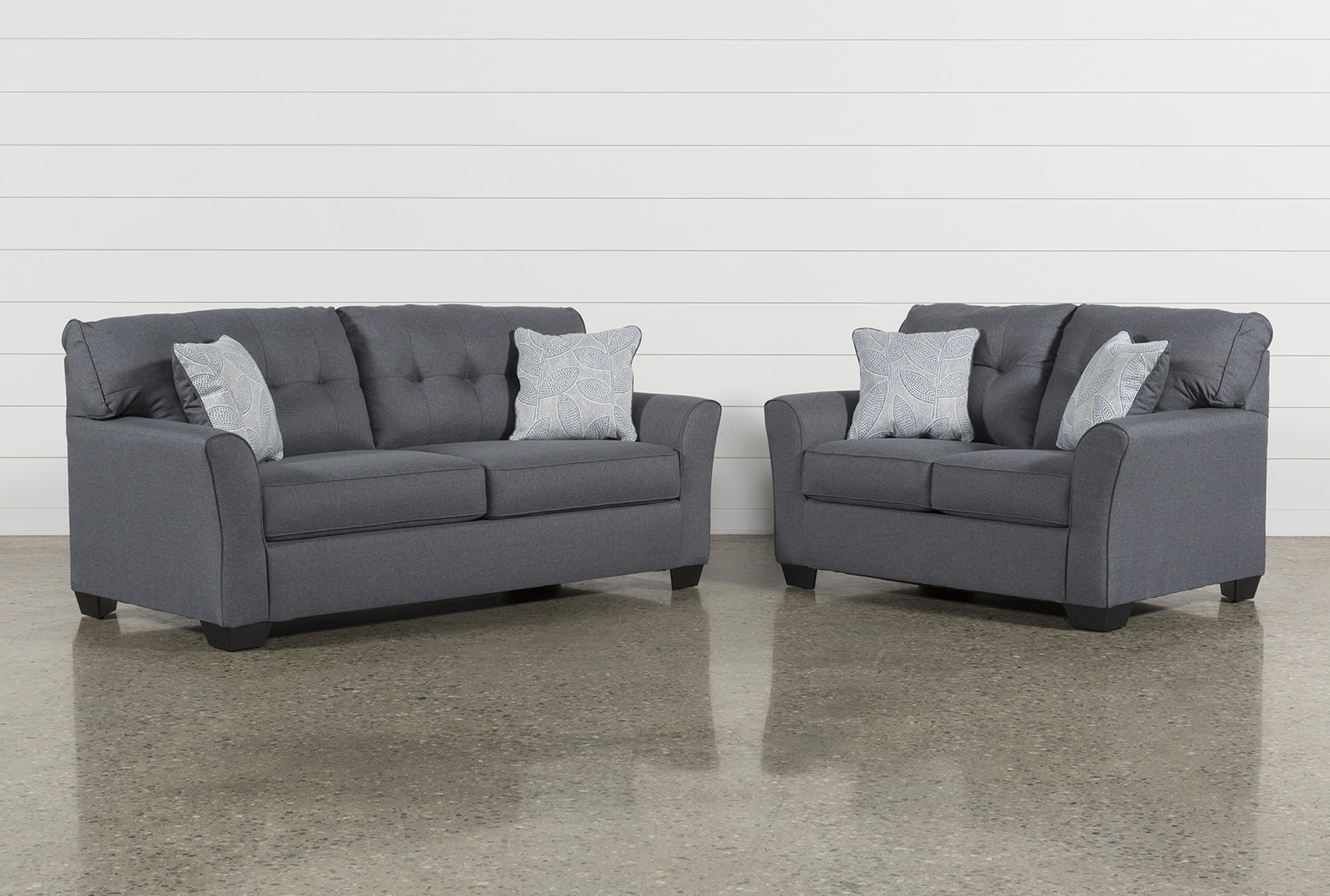 Jacoby Gunmetal 2 Piece Living Room Set (Qty: 1) Has Been Successfully  Added To Your Cart.