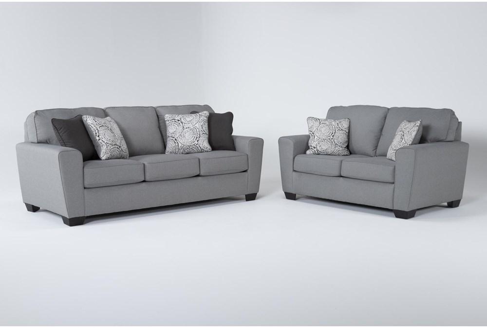 Mcdade Ash 2 Piece Living Room Set