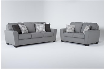 Mcdade Ash 2 Piece Living Room Set