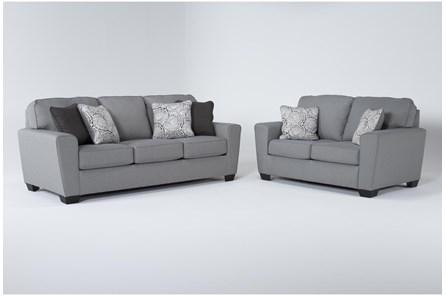 Mcdade Ash 2 Piece Living Room Set - Main