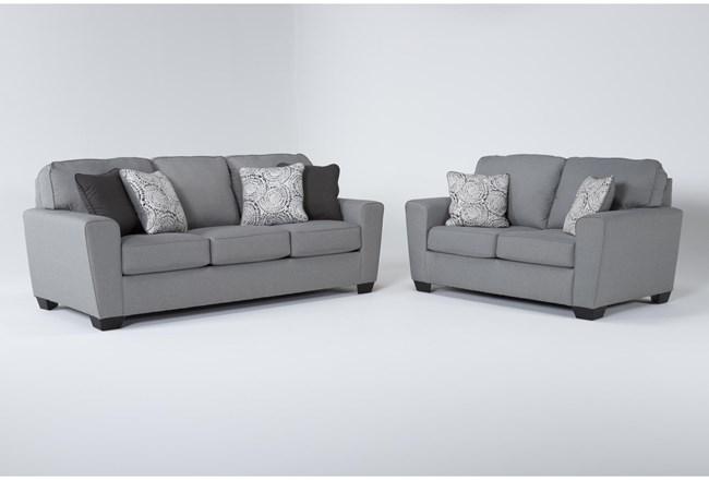 Mcdade Ash 2 Piece Living Room Set - 360