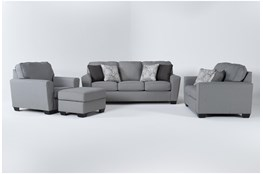Mcdade Ash 4 Piece Living Room Set