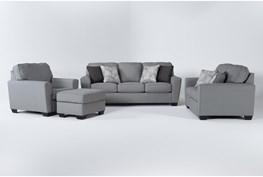 Mcdade Ash 4 Piece Living Room Set