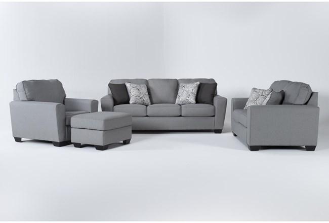Mcdade Ash 4 Piece Living Room Set - 360
