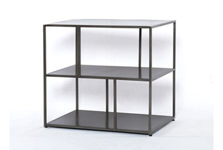 Gunmetal Side Table