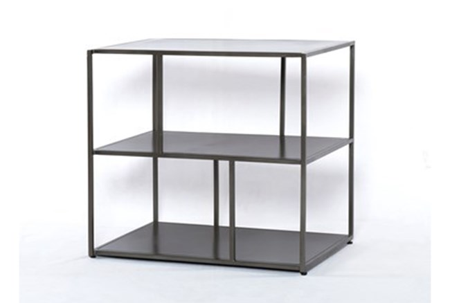 Gunmetal Side Table - 360