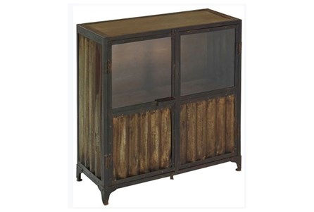 Corrugated Metal Cabinet