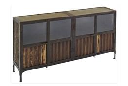 Corrugated Metal Sideboard