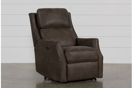 Chase Sable Power Recliner W/Power Headrest & Usb
