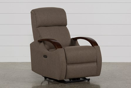 Clare Fossil Power Recliner W/Power Headrest & USB