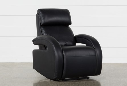 Cassie Midnight Power Recliner W/Pwr Headrest, Power Lumbar & Usb
