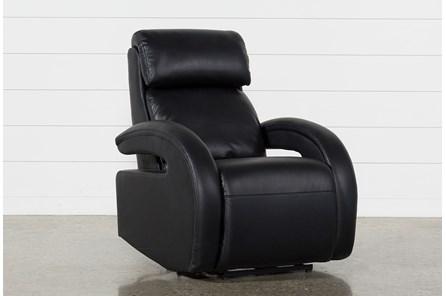 Cassie Midnight Power Recliner With Power Headrest, Power Lumbar & USB - Main