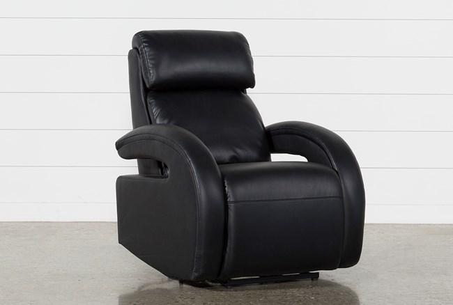 Cassie Midnight Power Recliner W/Pwr Headrest, Power Lumbar & Usb - 360