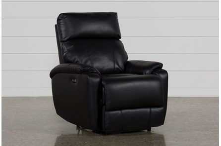 Connie Midnight Power Recliner W/Power Headrest & Usb