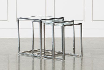 Mila 3 Piece Set Nesting Accent Tables