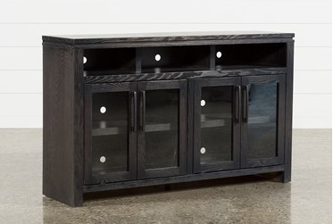 Oxford 60 Inch TV Stand With Glass Doors