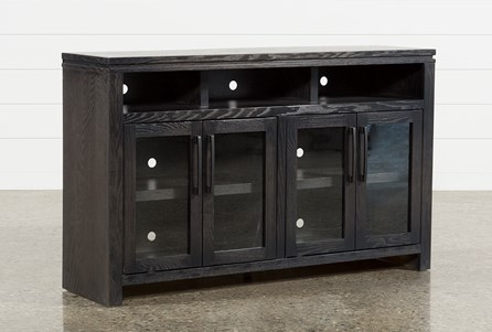 Oxford 60 Inch TV Stand With Glass Doors - Main