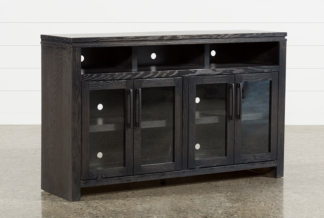 Oxford 60 Inch TV Stand With Glass Doors - 360