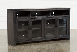 Oxford 70 Inch TV Stand With Glass Doors