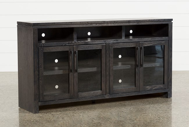 Oxford 70 Inch TV Stand With Glass Doors - 360