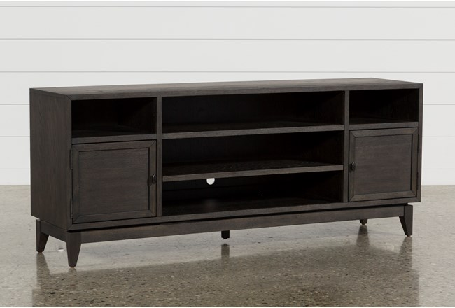 Casey Umber 74 Inch Tv Stand by Living Spaces
