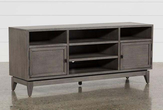 Casey Grey 66 Inch Tv Stand - 360