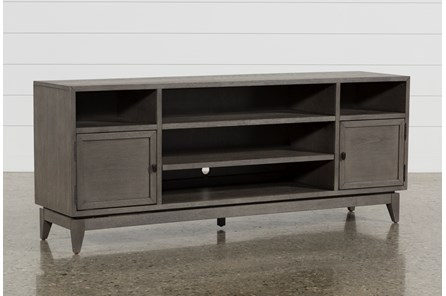 Casey Grey 74 Inch Tv Stand - Main
