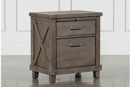 Jaxon Grey Nightstand - Main