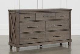Jaxon Grey 7 Drawer Dresser