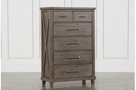 Jaxon Grey Chest Of Drawers - Main