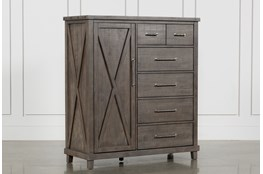 Jaxon Grey Gentlemans Chest Of Drawers