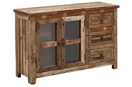 Vintage Planked Sidedboard
