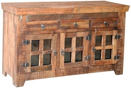 Vintage 12 Glass Sideboard