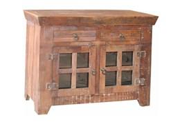 Vintage 8 Glass Sideboard