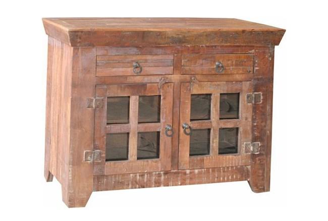 Vintage 8 Glass Sideboard - 360
