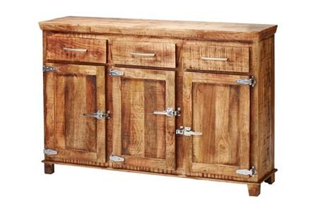 Reclaimed 3 Drawer Icebox Sideboard - Main