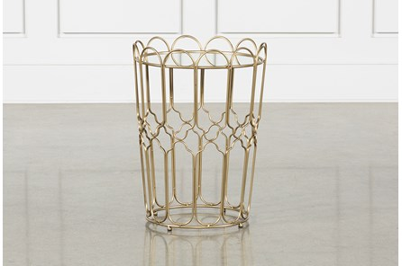 Waves Gold Accent Table - Main