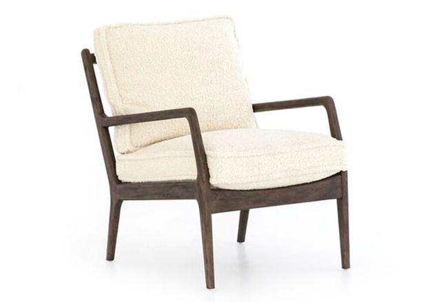 Sheepskin Accent Chair - 360
