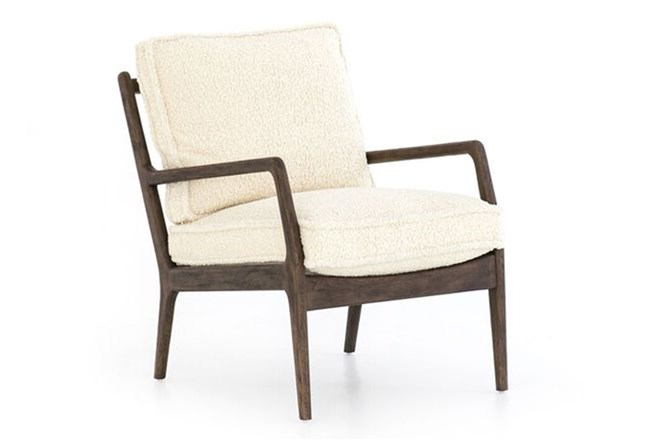 Sheepskin Accent Chair - 360