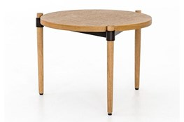 Smoked Oak Side Table