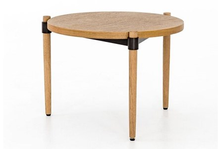 Smoked Oak Side Table