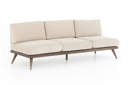 Armless Stone Sofa