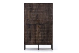 Vintage Brown Textured Cabinet