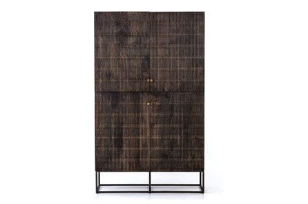Vintage Brown Textured Cabinet