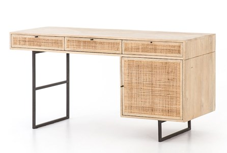 Natural Cane Desk
