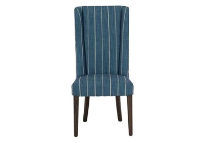 Amazing Blue Stripe Dining Chair Inzonedesignstudio Interior Chair Design Inzonedesignstudiocom