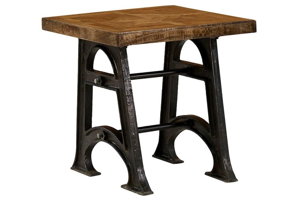 Industrial Legs End Table