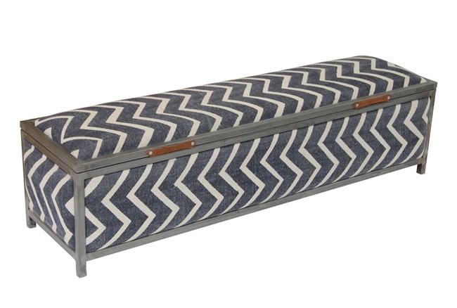 Stripe Storage Bench - 360