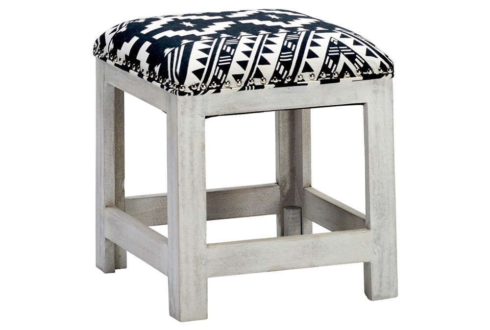 Global Pattern Accent Stool
