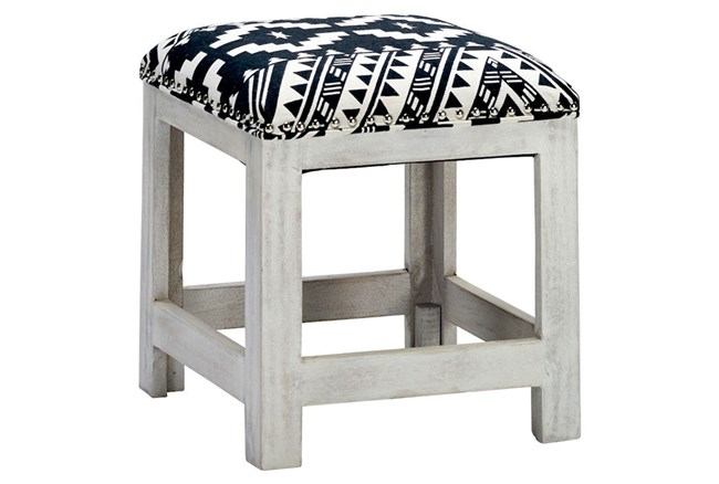 Global Pattern Accent Stool - 360
